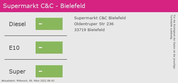 Billig Tanken Bielefeld